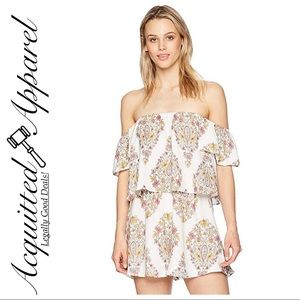 Show Me Your MuMu | Dixie Romper Flower Shower